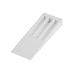 Immagine di cuneo rigido bianco per sformatura 150 mm